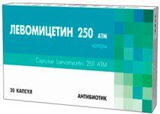 Инструкция по применению препарата Левомицетин