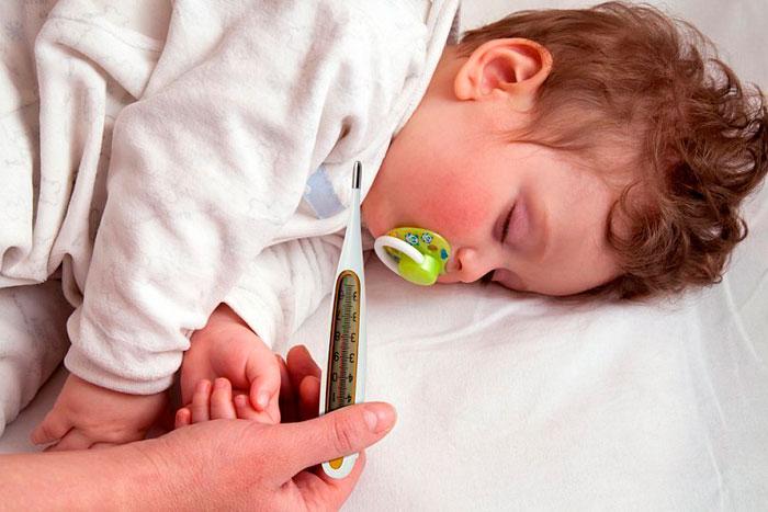 Озноб и лихорадка у ребенка