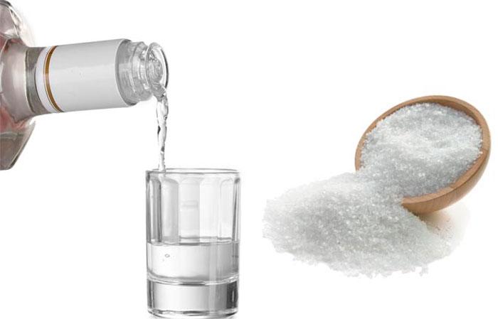Водка с солью от чего