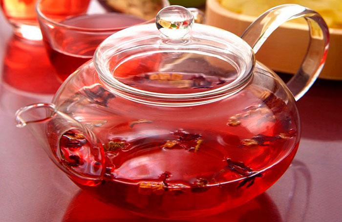 чай из гранатовых корок