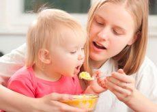 Чем кормить ребенка при поносе в 1 год?