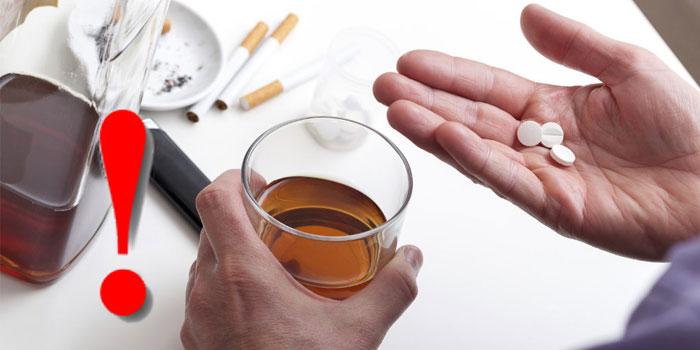 пробиотик и алкоголь