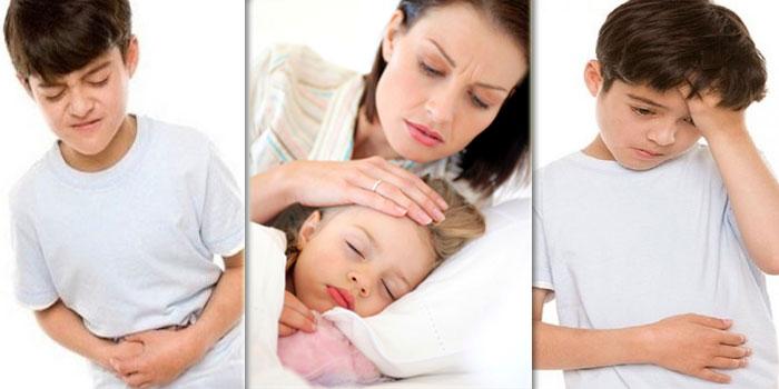 симптомы ротавирус