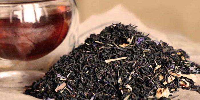 Сухая заварка чая