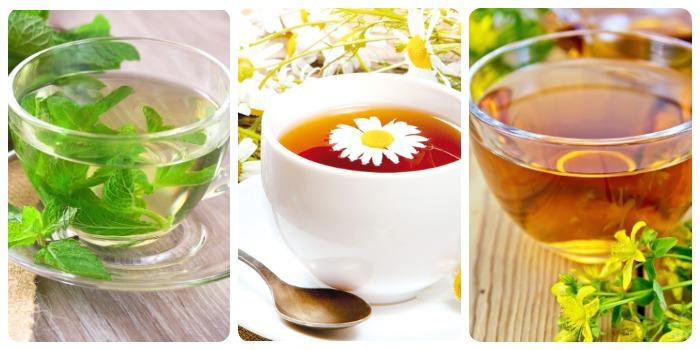 Виды травяного чая