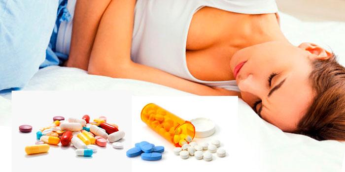 лечения болей в низу живота