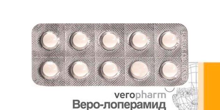 состав и форма Веро-лоперамид