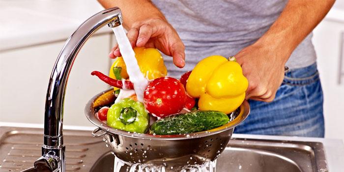 Мытья овощей и фруктов