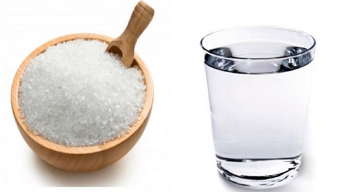 Вода и соль