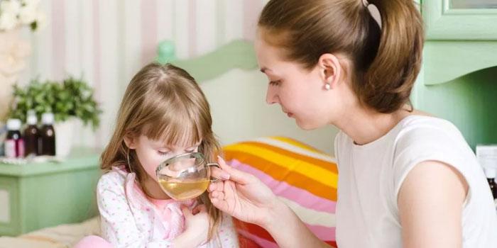 чай из шиповника детям
