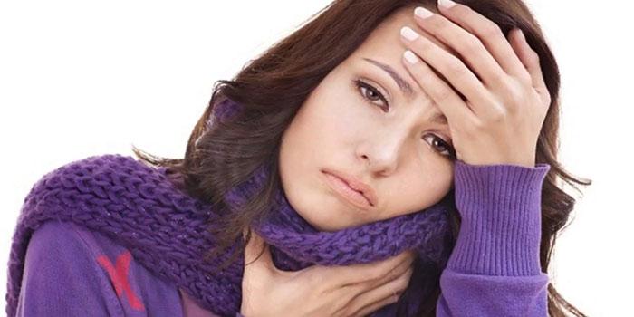 Диарея при ангине у взрослых
