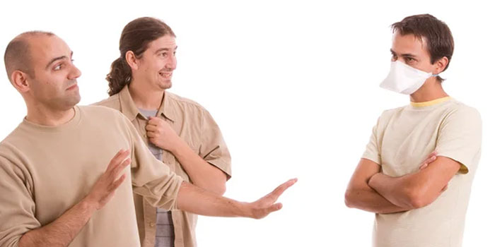 Избегание контакта с зараженными людьми