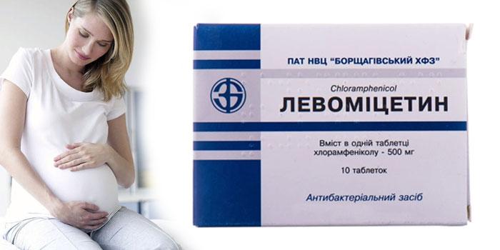Левомицетин при беременности