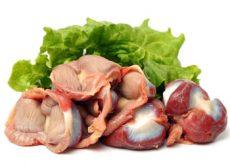 Особенности лечения диареи куриными желудками
