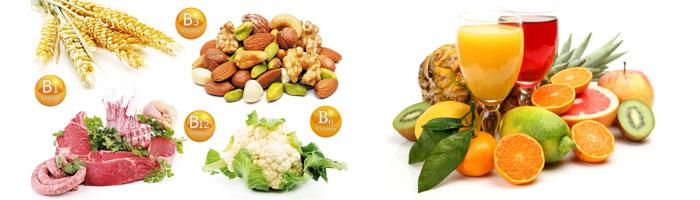 Витамины групы С и В