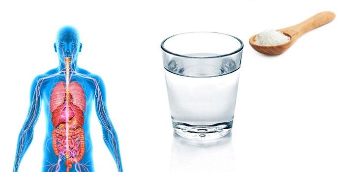 восстановить водно-солевой баланс