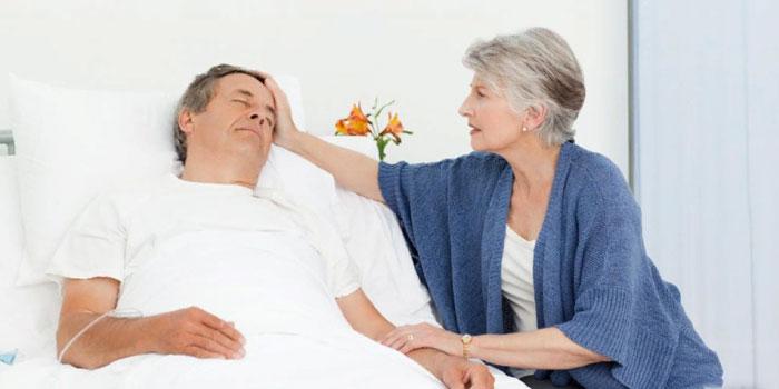 лежачий больной после инсульта